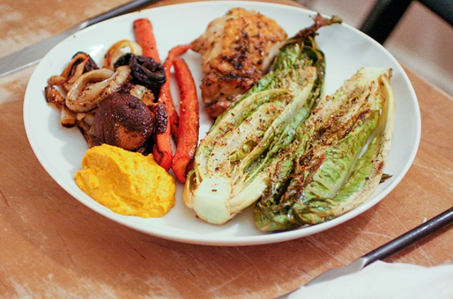Ashley Mason | Catalan Carrot Romesco Bon Appetit Recipe