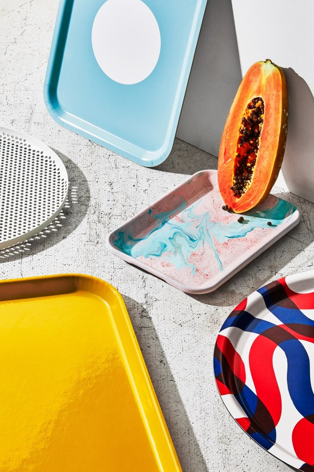 Ashley Mason | Colorful Trays